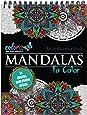 Amazon.com: Mandala Coloring Book: 100+ Unique Mandala