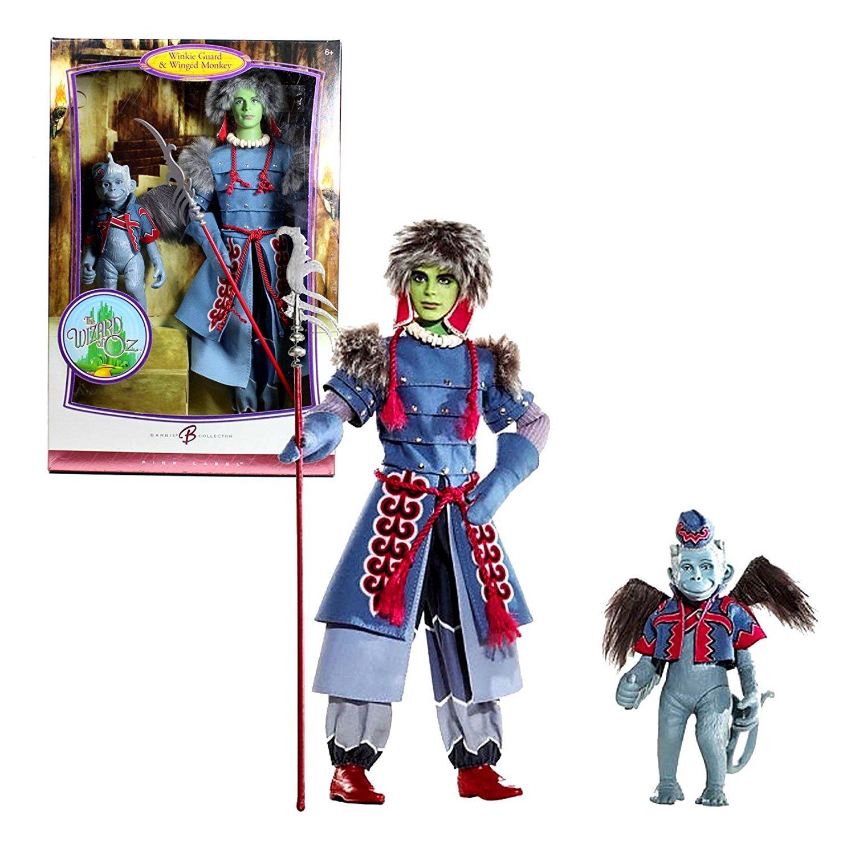 Wizard of Oz Winkie Guard and Winged Monkey Barbie