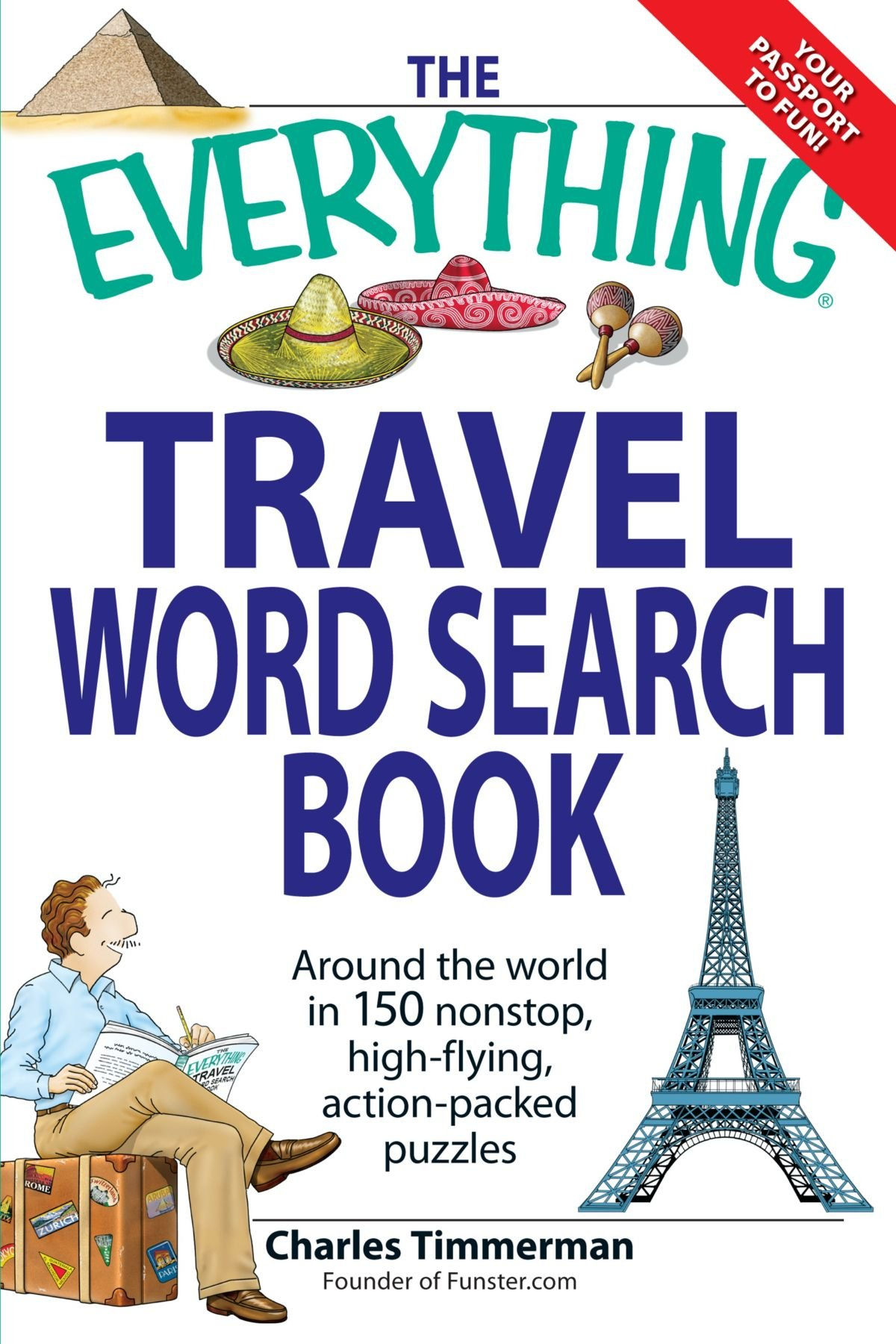 Everything Travel Word Search Book product image