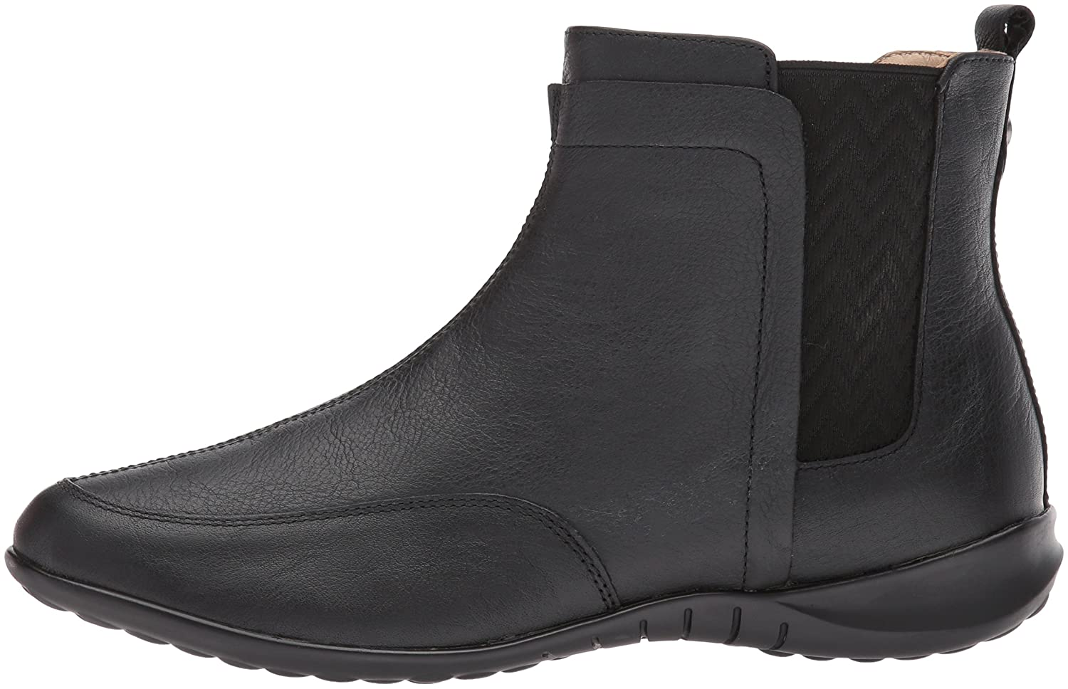 Hush Puppies Women's Lindsi Bria Chelsea Boot B01MRBLWTJ 9.5 W US|Black Wp