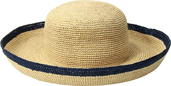 845d98f1e4a Echo Design Women s Matilda Raffia Bucket Hat Blue Depths One Size ...