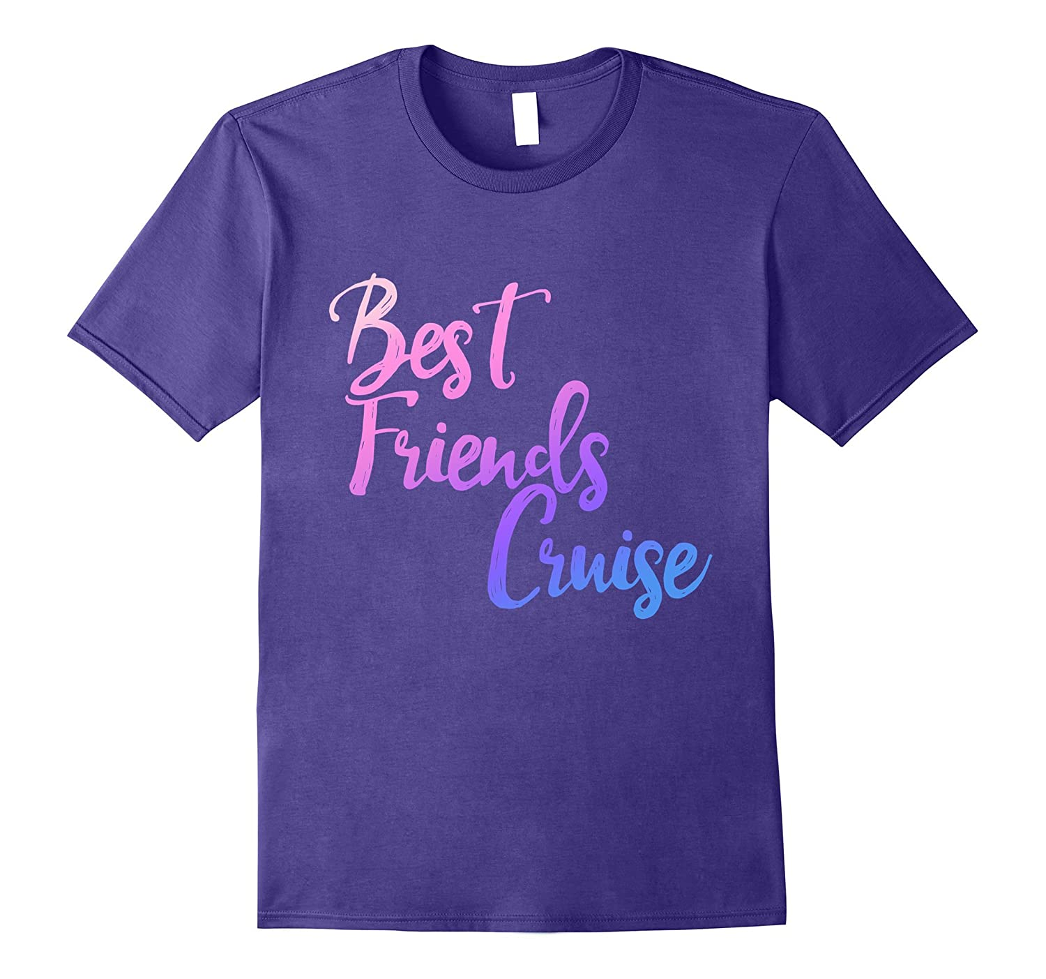 Best friends cruise t-shirt bff cruise ship vacation tee-FL