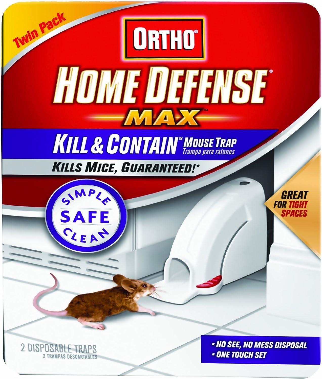Ortho 0320110 Home Defense MAX Kill Contain Mouse Trap, (Older Model)