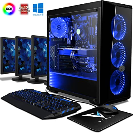 VIBOX Warrior 7W Gaming PC Ordenador de sobremesa con Cupón de ...