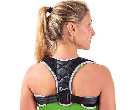 bf4c6be576fa1 STALSTOL Posture Corrector for Women   Men-Adjustable Support Brace- Upper  Back Pain Relief