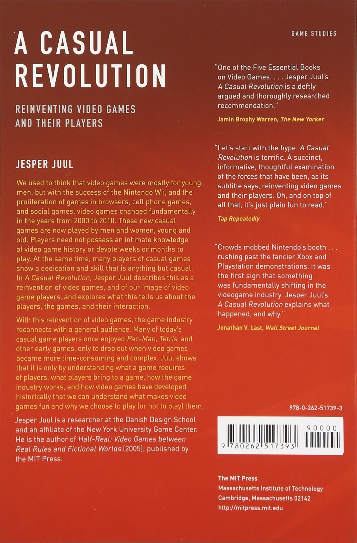 Amazon: A Casual Revolution: Reinventing Video Games And Their Players  (mit Press) (9780262517393): Jesper Juul: Books