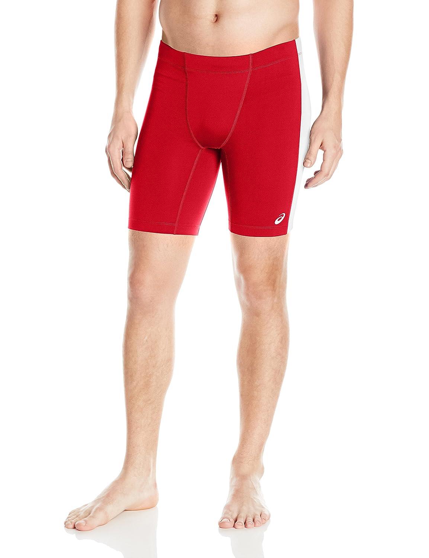 (Large, Red/White) - ASICS Men's Enduro Short   B01BL18H6K