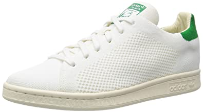 adidas Men s Stan Smith Og Primeknit Low-Top Sneakers  Amazon.co.uk ... fca898c78