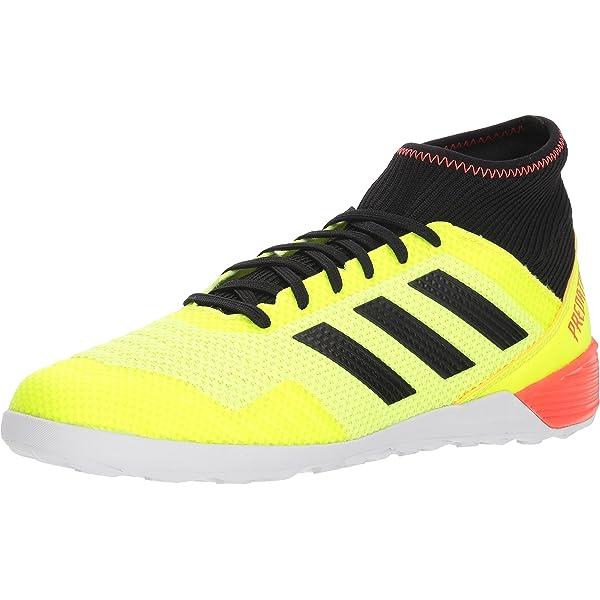 adidas Men's Predator Tango 18.3 Indoor Soccer Shoe, Yellow