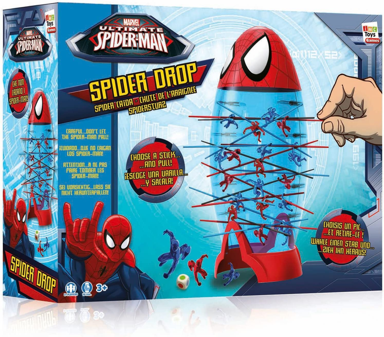 SPIDERMAN Spider Drop: Amazon.es: Juguetes y juegos