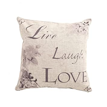 Amazon Pillow Cases Standard Size CaseShell Live Laugh