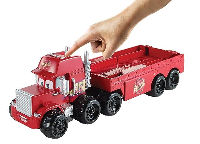 Amazon.com: Disney Cars Splash – Racers Mack Transporter ...