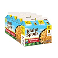 Deals on 8-Pk Idaho Spuds Real Potato, Gluten Free, Hashbrowns 4.2-Oz