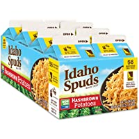 8-Pack Idaho Spuds Real Potato, Gluten Free, Hashbrowns 4.2oz
