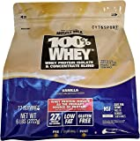 Cytosport 100% Whey Protein Powder, Vanilla, 6 Lb. Bag From the Makers of Muscle Milk