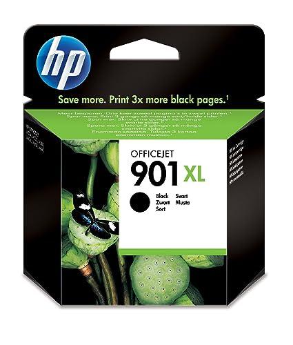 HP 901XL Black Officejet Ink Cartridge - Cartucho de tinta para impresoras (Negro, Alto, 700 páginas, 20-80%, -40-60 °C, 15-32 °C)