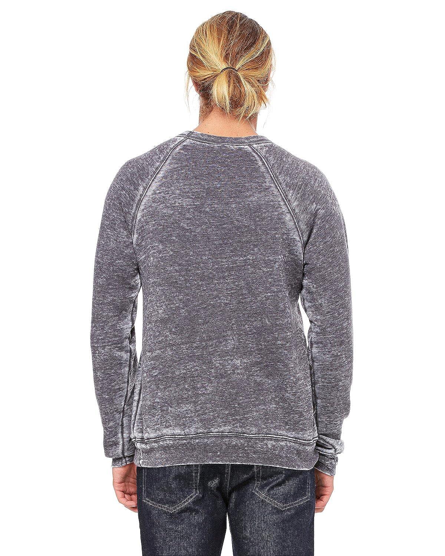 XS - Grey Triblend Canvas Unisex Sponge Fleece Crew Neck Sweatshirt Style # 3901 - Original Label Bella