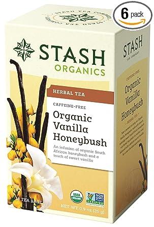 Stash Tea Orgánica Té de hierbas bolsas: Amazon.com: Grocery ...