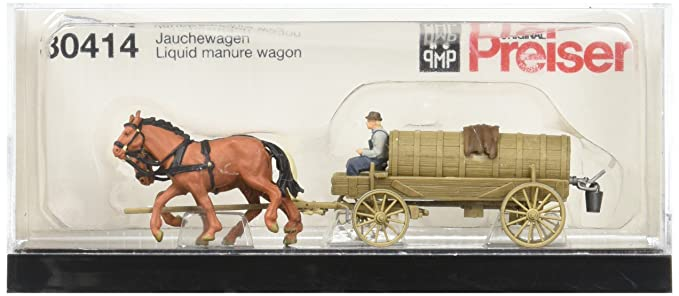 Amazon com: Preiser 30414 Farm Equipment Liquid Fertilizer Wagon HO