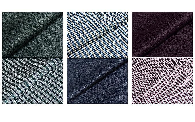 2f471079773 KUNDAN SULZ GWALIOR Men s Shirt and Trouser Dress Material (Multicolour)  -Set ...