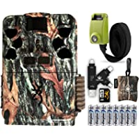 Browning Patriot Camera with SD Card, Batteries, Card Reader, Reinforced Strap, and Spudz Microfiber Cloth Screen…