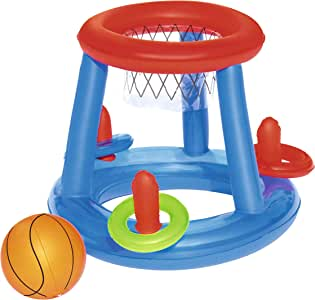 Bestway 52190 - Canasta Hinchable Baloncesto Game Center Ø61 cm ...