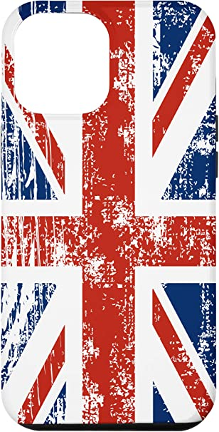 iPhone 12 Pro Max Vintage Distressed Union Jack British Flag Case