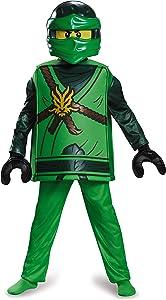 Disguise Lloyd Deluxe Ninjago Lego Costume, Large/10-12