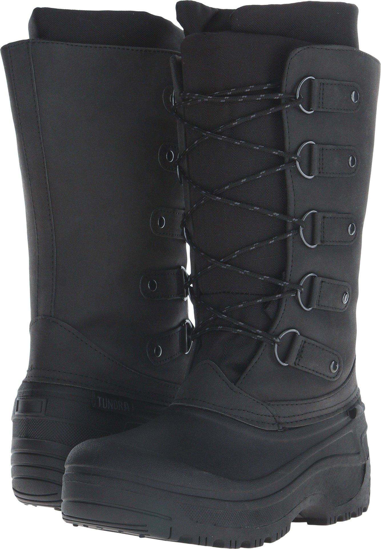 Tundra Women's Tatiana Winter Boot, Black, 7 B US by Tundra