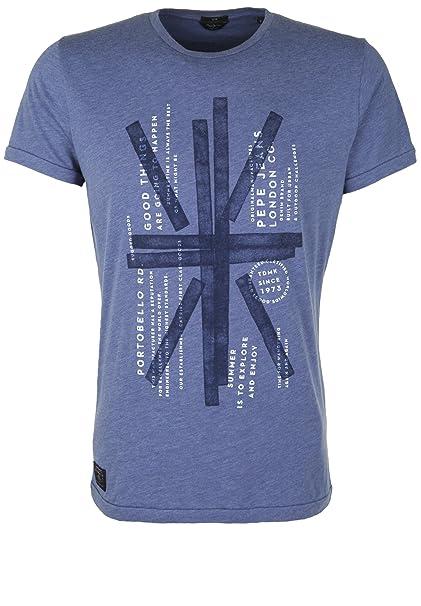 Hombre XxlAmazon Flag Azul Accesorios Pepe esRopa Jeans Camiseta Y wvmnN80