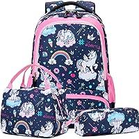 Mochila Unicornio Niños Impermeable Mochila Escolar para Adolescente Pequeñas Mochilas Infantil Bolso para Chicas para…