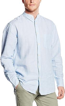 Milano Camisa Hombre Azul 2XL: Amazon.es: Ropa y accesorios