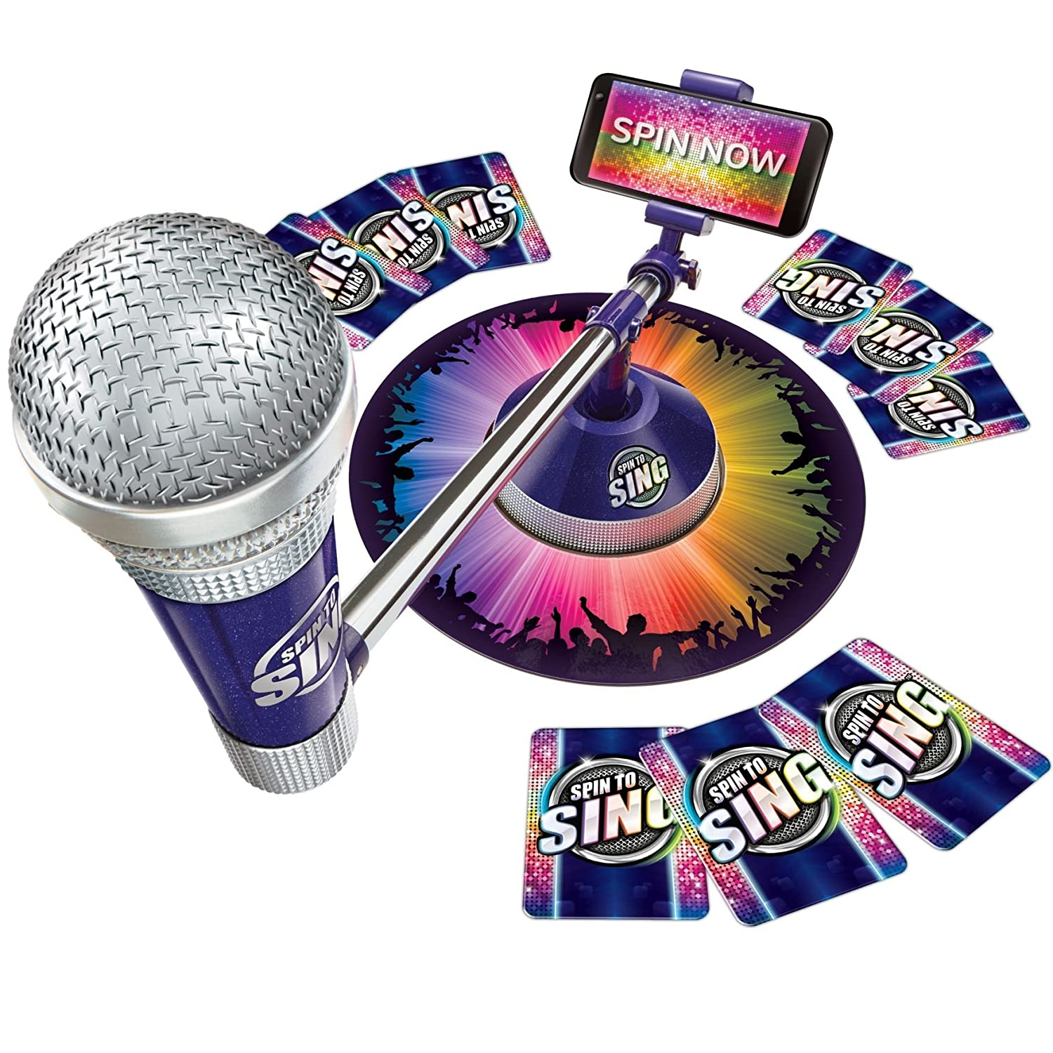 Spin To Sing Game Singing Competition Game For All The Family