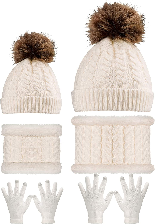 SATINIOR 6 Pieces Baby Beanie Hat Newborn Caps Hats Soft Baby Knot Hats Caps Unisex