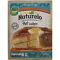 Naturelo Harina De Garbanzo Preparada Para Hot Cakes, Sabor Que Sorprende, 420 Gramos