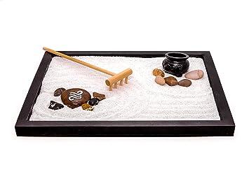 Amazoncom Zen Factory Deluxe Zen Garden Desktop Meditation Kit