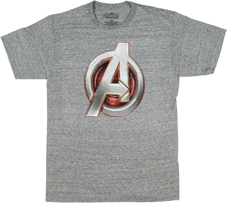 Avengers Age Of Ultron Thor Logo Marvel Comics Licensed Adult T-Shirt