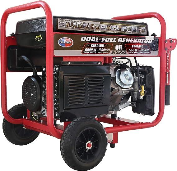 Amazon.com: Todos los Estados Unidos, Dual Fuel, Negro/Rojo ...