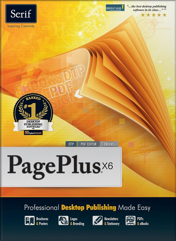 Amazon.com: Serif PagePlus X6: Software