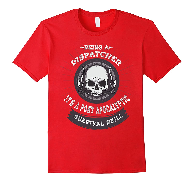 911 Being a dispatcher is not a carreer T-shirt-Rose