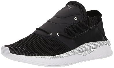 PUMA Men s Tsugi Shinsei Evoknit Sneaker Black Asphalt White 14 M US