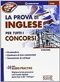 La prova di inglese per tutti i concorsi