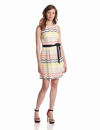 Trina Turk Women's Heights Dress, Multi, 0