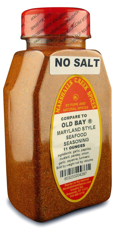 Marshall's Creek Spices Kosher No Salt, Maryland Style Seafood Seasoning, 11 Ounce