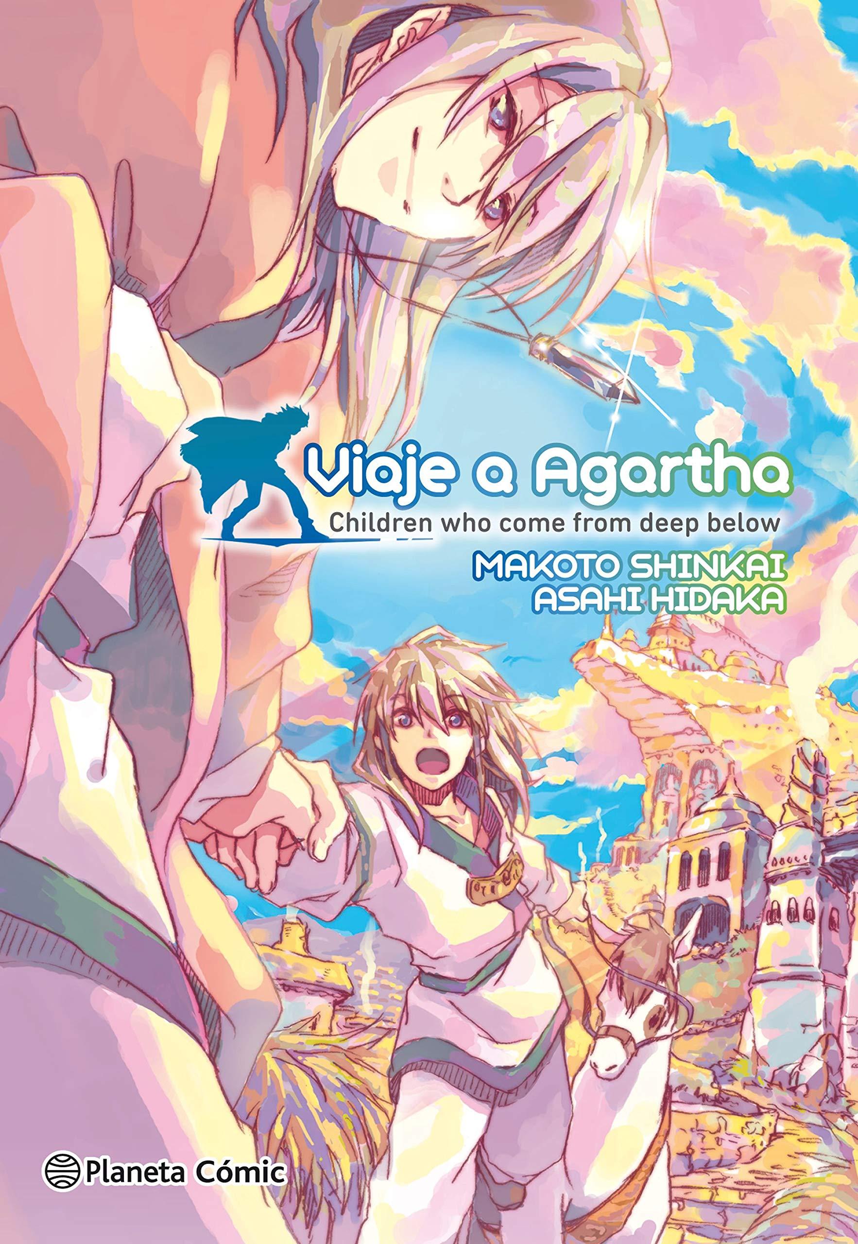 Viaje a Agartha Deep Below 2-en-1 : Children who come from deep below Manga: Biblioteca Makoto Shinkai: Amazon.es: Shinkai, Makoto, Toledo Velarde, Karla: Libros