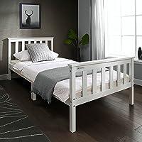 Solo 91,44cm marco de cama de madera en