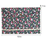 Kennedy A4 File Bag Floral Print Pattern Envelope