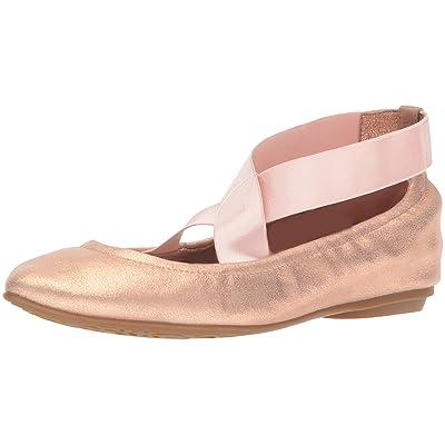 Taryn Rose Women's Edina Powder Metallic Ballet Flat: Shoes