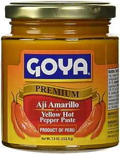 Goya Yellow Hot Pepper Paste 7.5 oz - Aji Amarillo
