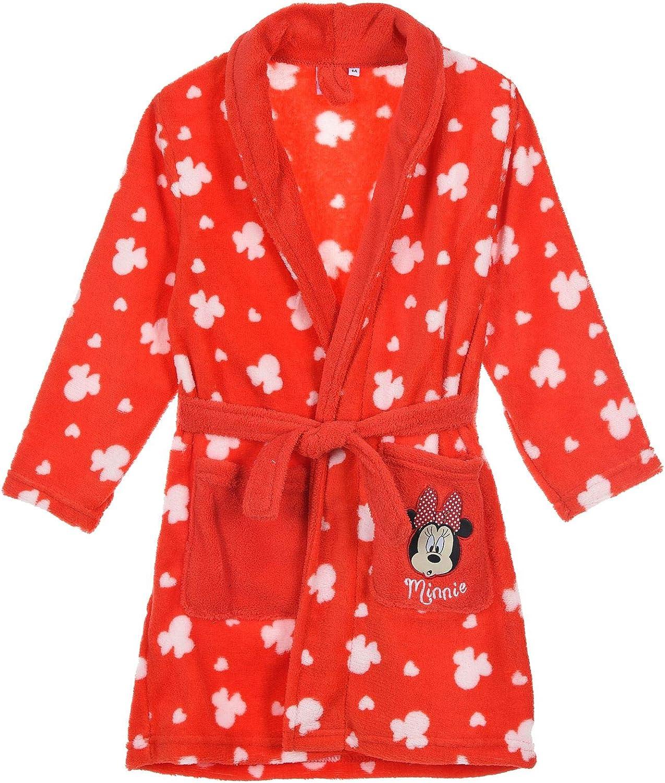Robe De Chambre Fille Minnie Mouse Robes De Chambres Et Kimonos Vetements De Nuit Et Peignoirs
